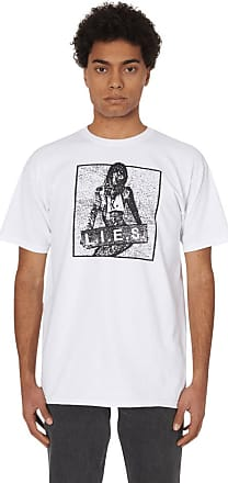 L.I.E.S. Records L.i.e.s. records Overdrive t-shirt WHITE M