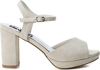 Refresh Womens Sandal REF069721 White Size: 39 EU