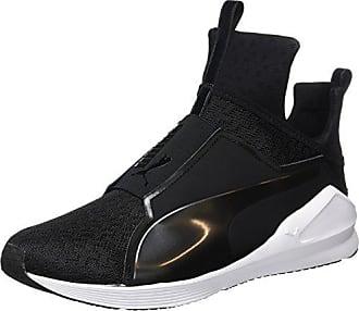 Puma Damen Fierce Eng Mesh Hohe Sneakers, Schwarz (Puma Black-Puma White) fa736ceed6