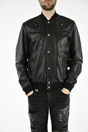 Just Cavalli Leather Bomber size 48