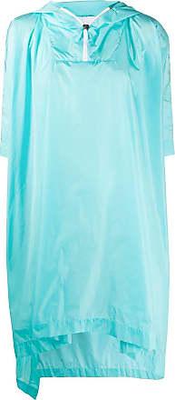No Ka'Oi Poncho con zip - Di colore blu