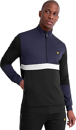 Lyle & Scott Lyle and Scott Mens Tech Track 1/2 Zip - M True Black