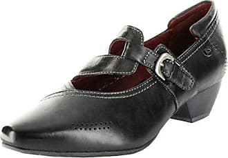 0ab1e5b473684e Josef Seibel Halbschuhe schwarz Glattleder Lederdecksohle Damen Schuhe  Kylie 05