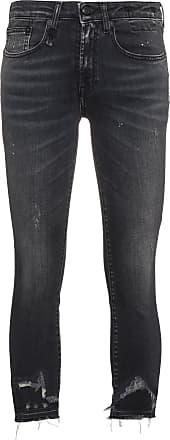 R13 Jenny Skinny Jeans - Black