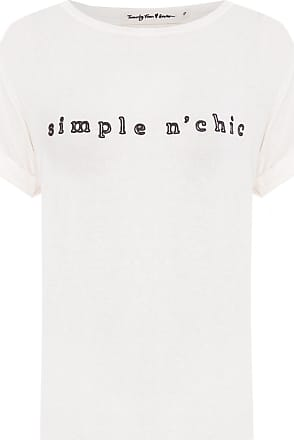 TWENTY FOUR SEVEN T-shirt Simple Nchic - Off White