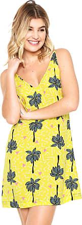 Oh, Boy! Vestido OH BOY Decote V Amarelo