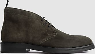 Reiss Elgin - Suede Chukka Boots in Green, Mens, Size 10
