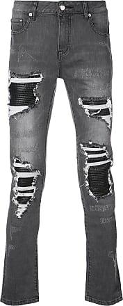 Gods Masterful Children distressed skinny jeans - Grey