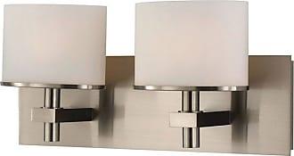 Elk Lighting Ombra 2 Light Bathroom Vanity Light - BV512-10-16P