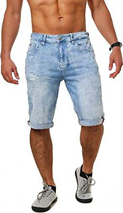 61d4221512c69e M.O.D Herren denim jogg Jeans Shorts MOD Cornell bermuda kurze Hose Vintage  Look dehnbar stretch Sweat