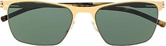 Ic! Berlin Óculos de sol retangular Julius - Dourado