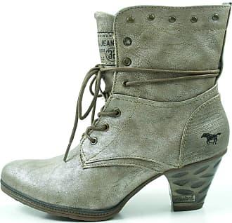 Mustang 1255-503 Womens Booties, schuhgröße_1:36 EU;Farbe:argent