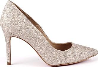 Paula Brazil Scarpin July 931-80139 Glitter Nude - 35