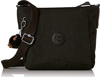 Kipling Austin Crossbody Bag, Adjustable Strap, Zip Closure, Black Cloud Tonal