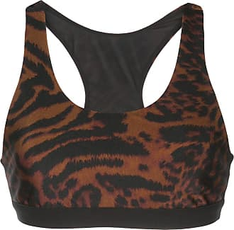 Koral Reggiseno sportivo Tax leopardato - Color marrone
