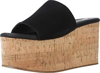 Yellow Women Sandals and Slippers Women Queens Black 5.5 UK
