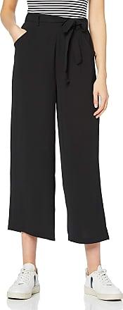 Pieces Womens PCNELLIE HW Culotte NOOS Trousers, Black (Black Black), W(Size: XL)