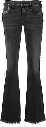Diesel Calça jeans D-Ebbey bootcut - Preto