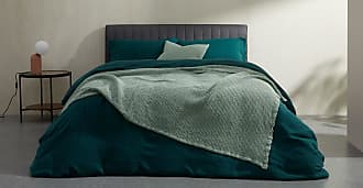 MADE.COM Grove Tagesdecke (150 x 200 cm) aus 100 % Baumwolle, Hellgruen
