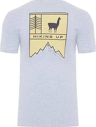 Zapalla CAMISETA MASCULINA HIKING UP - CINZA
