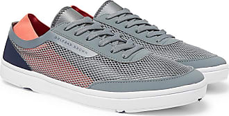 Orlebar Brown Larson Panelled Mesh Sneakers - Gray