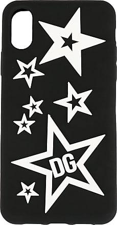 Dolce & Gabbana Capa para iPhone XR com estrela - Preto