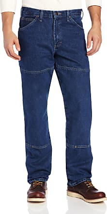 Dickies Mens Relaxed-Fit Double-Knee Workhorse Jean - - 32W x 32L