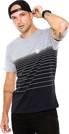 Element Camiseta Element Gradient Preta/Cinza