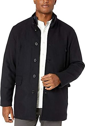 Cole Haan Mens Pressed Melton 3-in-1 Topper Jacket with Removable Bib
