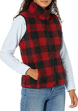 Essentials Womens Polar Fleece Lined Sherpa Vest