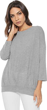 Vero Moda Blusa Vero Moda Básica Cinza