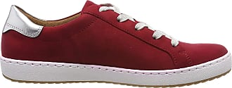 Jenny Womens Dublin 2253226 Low-Top Sneakers, Red (Rot,Silber 76), 7.5 UK