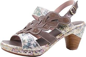 Laura Vita Beclforto 12 Womens Fashion Sandals, schuhgröße_1:37, Farbe:Grey