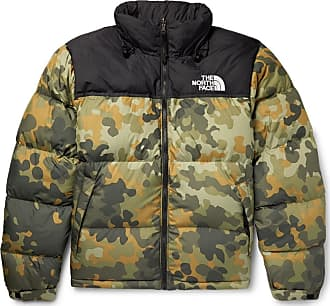 11ccc8c7b2 The North Face 1996 Retro Nuptse Quilted Camouflage-print Shell Down Jacket  - Green