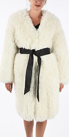 Just Cavalli Shearling Coat with Belt size 44
