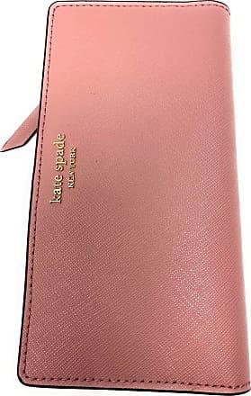 Kate Spade New York Slim Cameron Saffiano Leather Bifold Wallet (Dustypeony)