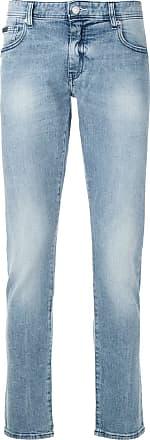 Armani Calça jeans reta - Azul