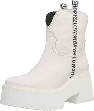 Yellow Women Womens Boots Mini Tijuana Festival White 5.5 UK