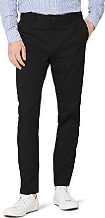 Tommy Hilfiger Tailored Hmt w Pntsld00001 Pantalon, Blanc