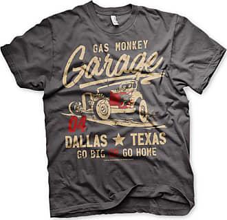 Gas Monkey Garage GMG - Go Big Or Go Home T-Shirt - Dark Grey - XX-Large