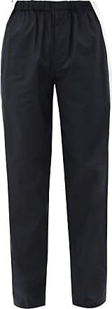 Helmut Lang Harness-strap Cotton-shell Trousers - Mens - Navy