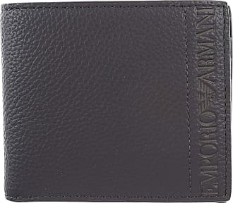 87c0896995a Emporio Armani Wallet for Men On Sale, Midnight, Leather, 2017, one size