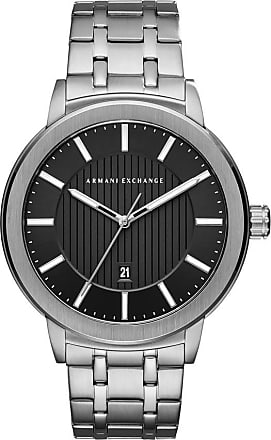 A|X Armani Exchange Relógio Quartz Couple Shot - Homem - Prateado - Único IT