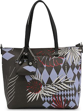 5e22bd13255b Versace Jeans Couture Women Shopping Bag Black Genuine Designer Shopping Bag