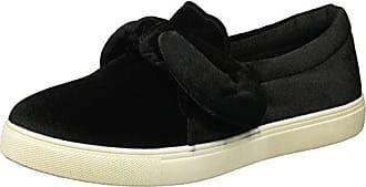 Yoki Womens Tia-123 Sneaker, Black, 9 M US