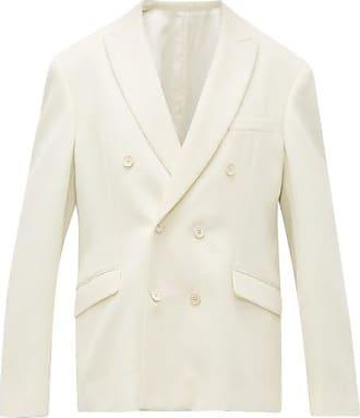 Wardrobe.NYC Wardrobe.nyc - Release 04 Double-breasted Merino Wool Blazer - Womens - White