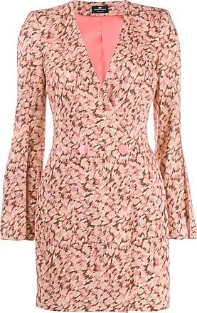 Elisabetta Franchi abstract print dress - Pink