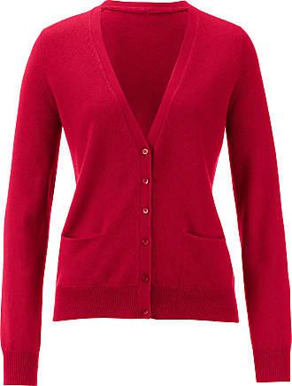 Peter Hahn Cardigan in Pure cashmere in premium quality desig Peter Hahn Cashmere red
