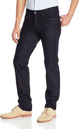 7 For All Mankind mens7 for All Mankind Mens Slimmy Luxe Performance Slim Fit Jeans Jeans - Blue - 33W x 34L