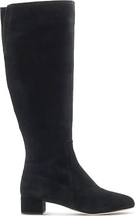 Clarks Ladies Knee High Boots Orabella Ava - Black Suede - UK Size 3.5D - EU Size 36 - US Size 6M